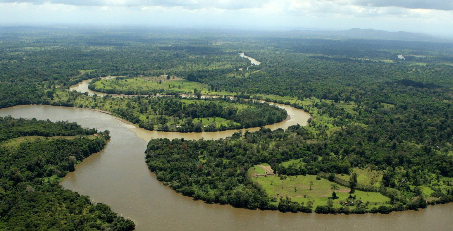 Ramsar Convention on Wetlands inspects conflict areas nicaragua San Juan Fluss