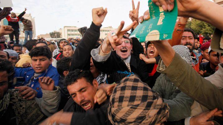 Proteste gegen Gaddafi: Libyen erhebt sich