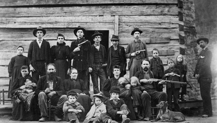 Hatfield und McCoy: Historische amerikanische Familienfehde