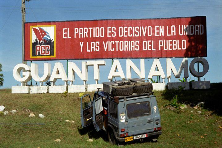 """Holtorf und """"Otto"""" 2008 auf Kuba"""