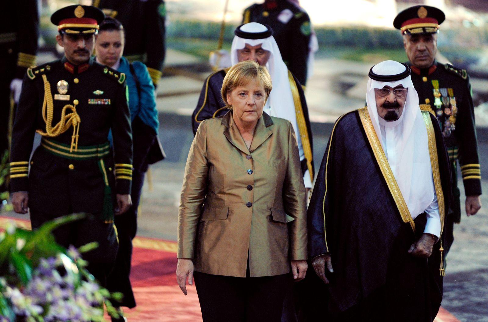 Merkel/Abdullah