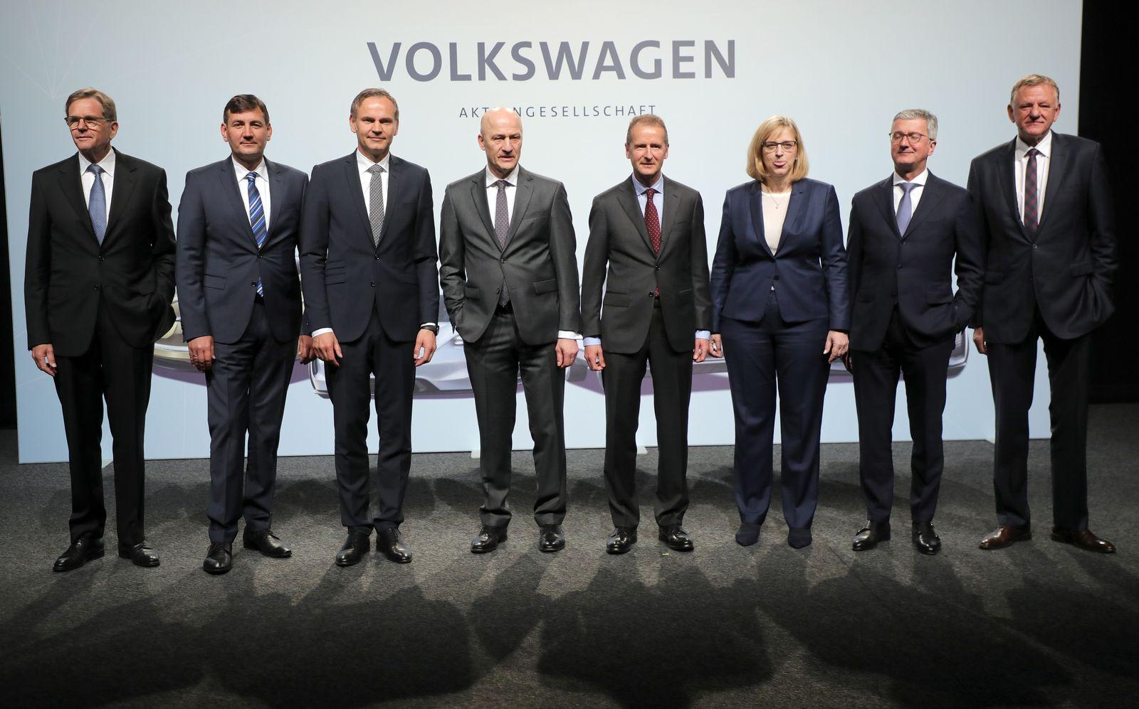 VW Vorstand / Volkswagen manager