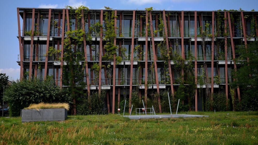 Nachhaltige Architektur: Grüne Dächer, hölzerne Fassade
