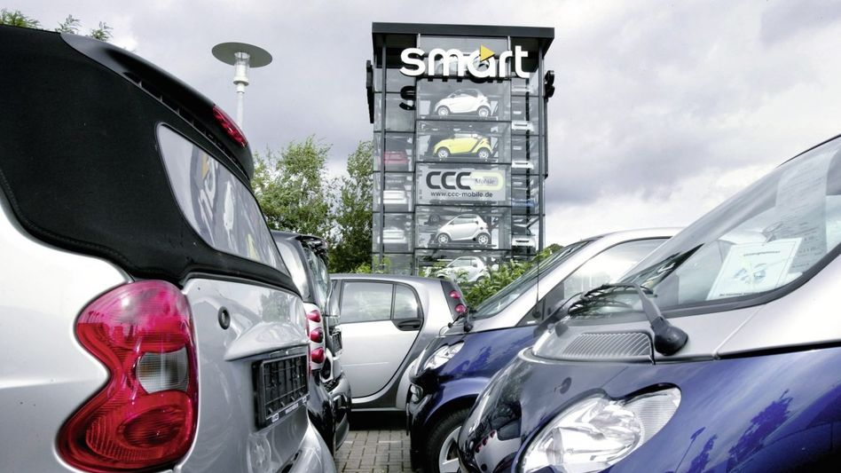 Smart-Fortwo-Wagen in Köln: »Werte schossen förmlich durch die Decke«