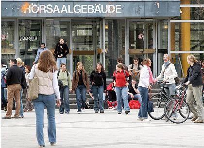 Studenten in Marburg: Studie zeigt abschreckende Wirkung von Studiengebühren
