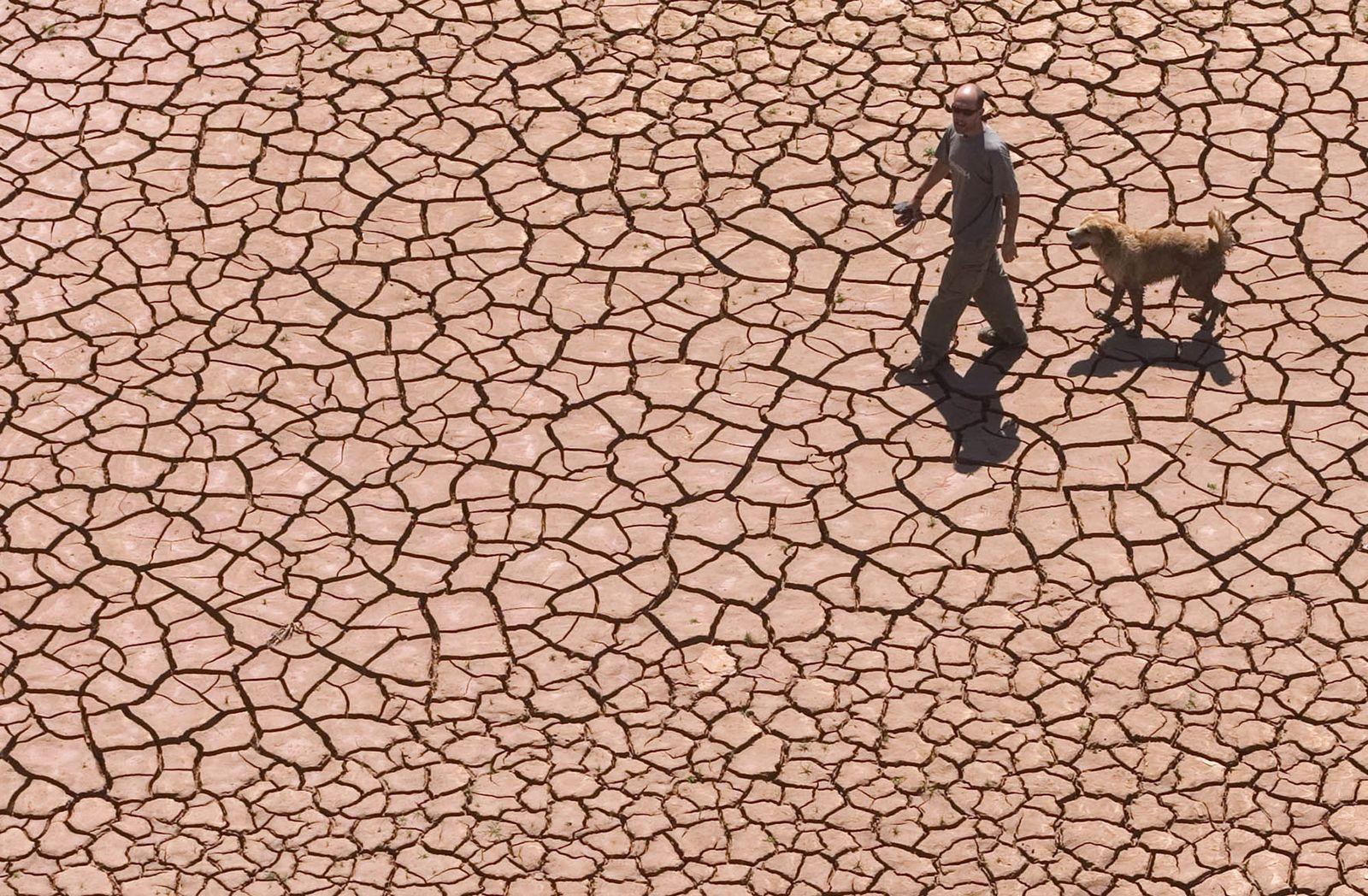 Dürre / Stausee / Alcora / Klimawandel