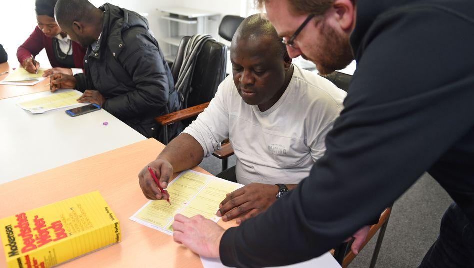 Weiterbildung für arbeitslose Zuwanderer in Bremen (Symbolbild)