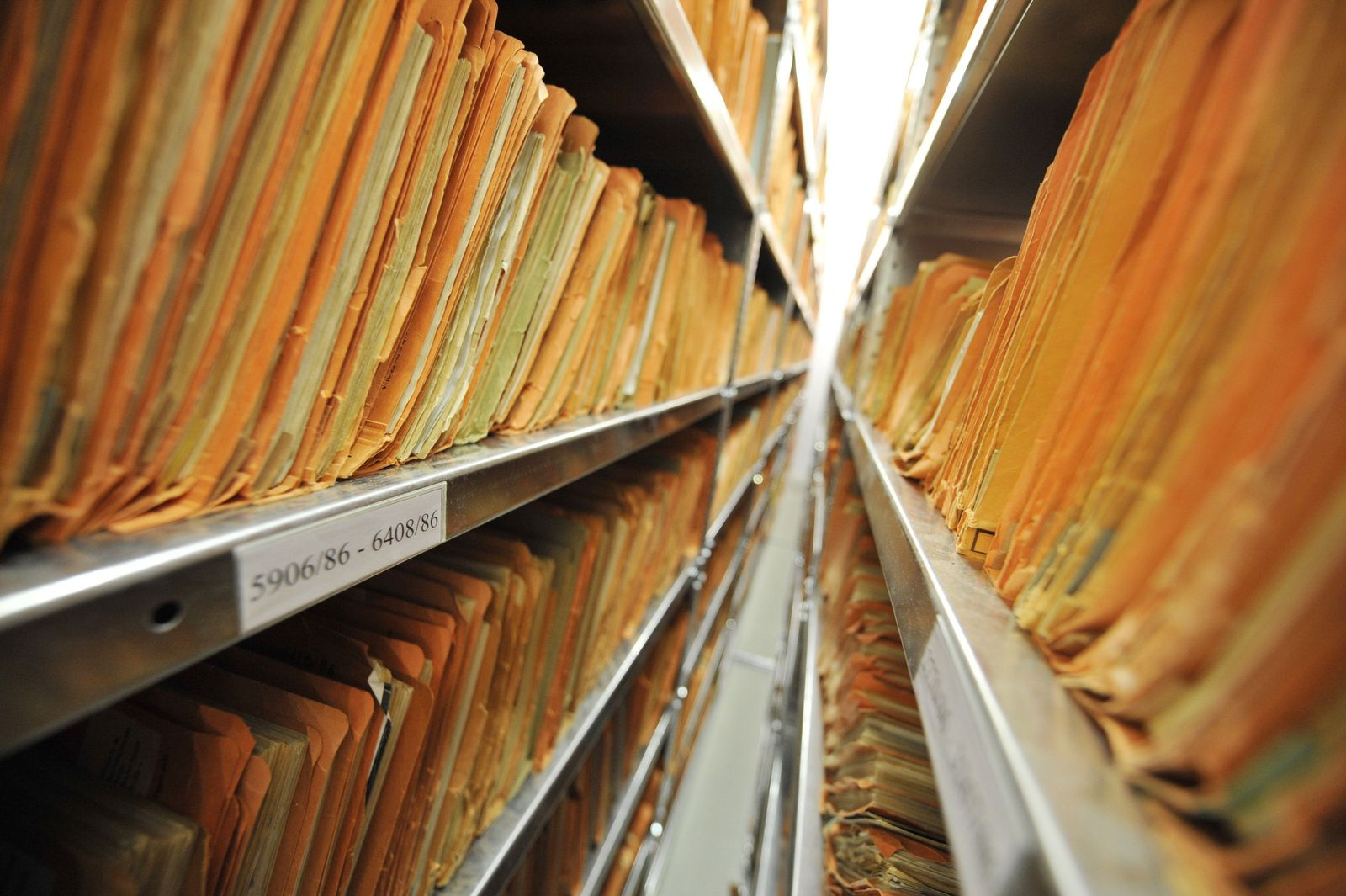 GERMANY-HISTORY-GDR-EAST-STASI-ARCHIVES
