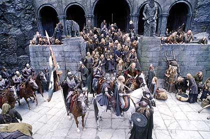 """Szene aus """"Herr der Ringe"""": Hat die Schlacht von Helms Klamm tatsächlich stattgefunden?"""