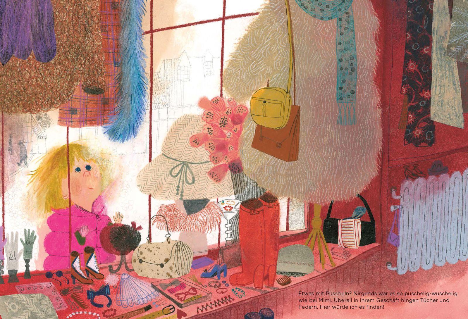 Kinderbücher/ Beatrice Alemagna: Das wundervolle Fluffipuff
