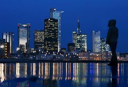Frankfurter Banken-Skyline: Die Finanzaufsichtsbehörde fürchtete ein Übergreifen der Krise auf weitere Institute
