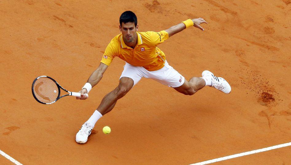 Tennisspieler Djokovic: Im Halbfinale von Rom