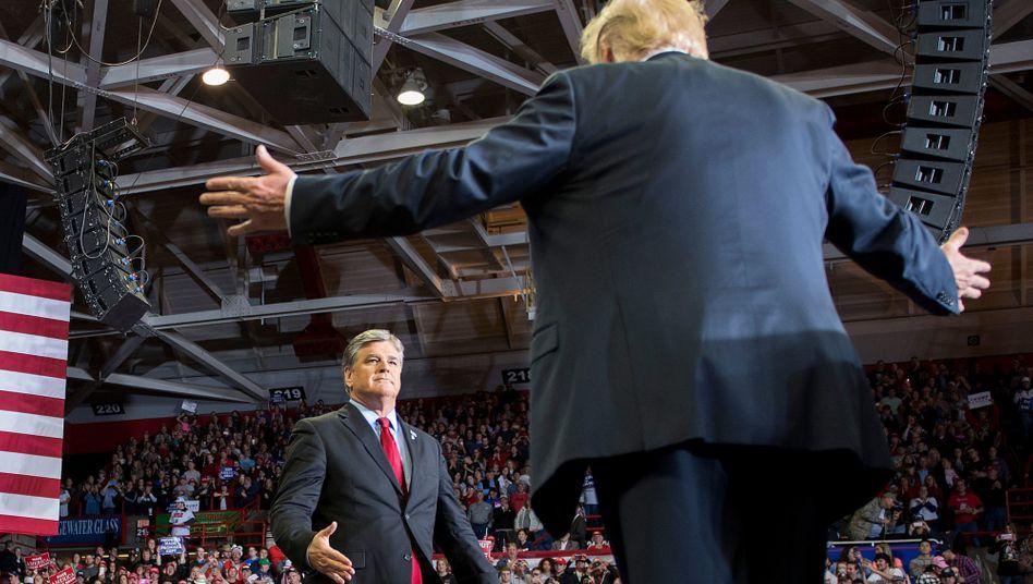 Donald Trump zu Gast bei Sean Hannity
