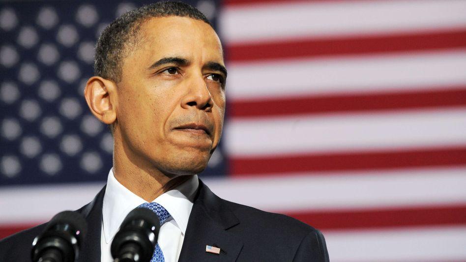 Us-Präsident Obama: Ohne Haushaltskompromiss droht der Stillstand