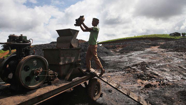 Energiehunger: Indiens riskanter Kohle-Kurs