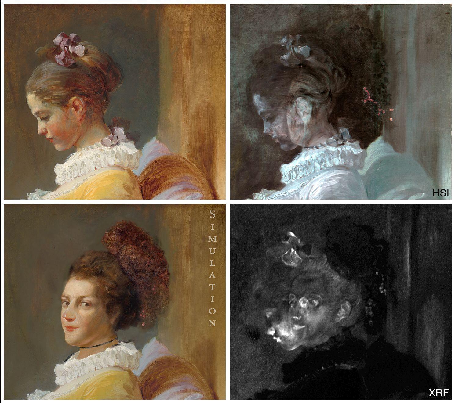 EINMALIGE VERWENDUNG Fragonard / Composing