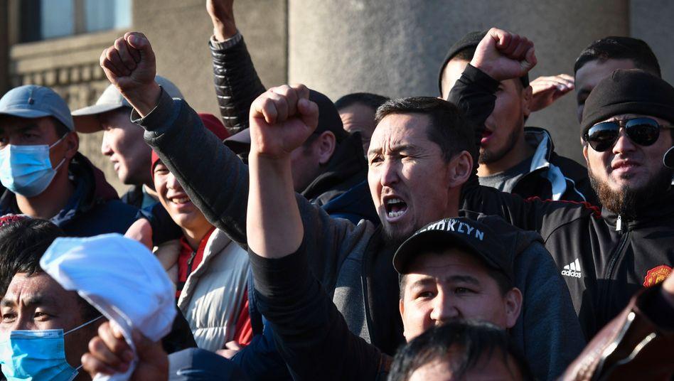 Gewaltsame Proteste in Kirgisistan