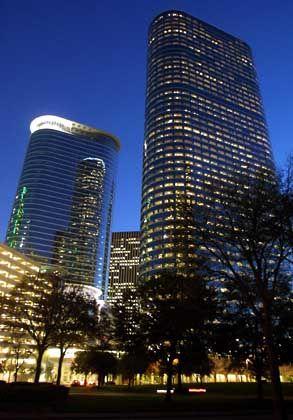 """Enron-Zentrale in Houston: """"Schwein"""", """"Schlange"""", """"Wirtschaftsterrorist"""""""