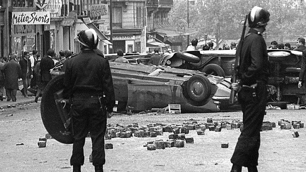 """Studentenunruhen in Paris: """"Seid Realisten, verlangt das Unmögliche"""""""