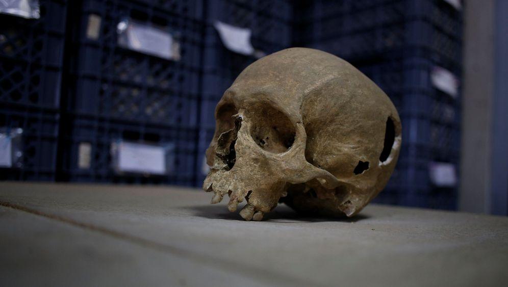 Lissabon: Skelette in der Altstadt