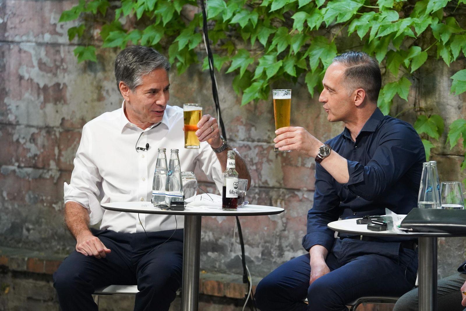 US foreign minister Antony Blinken visita Berlin