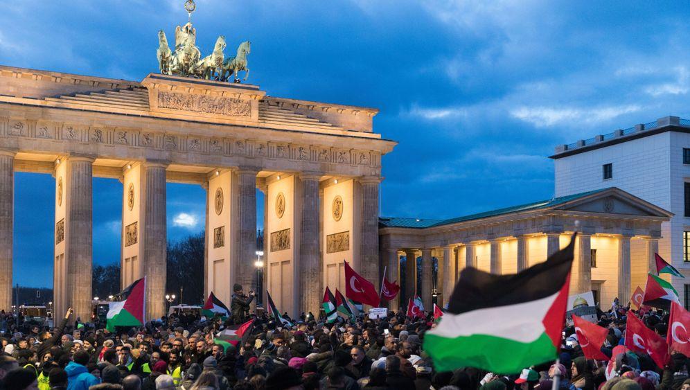 Jerusalem-Entscheidung: Proteste in Berlin