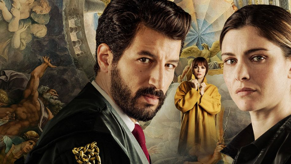Serienhauptdarsteller Vittoria Puccini und Francesco Scianna: Unmögliche Liebe zwischen Anklägerin und Verteidiger