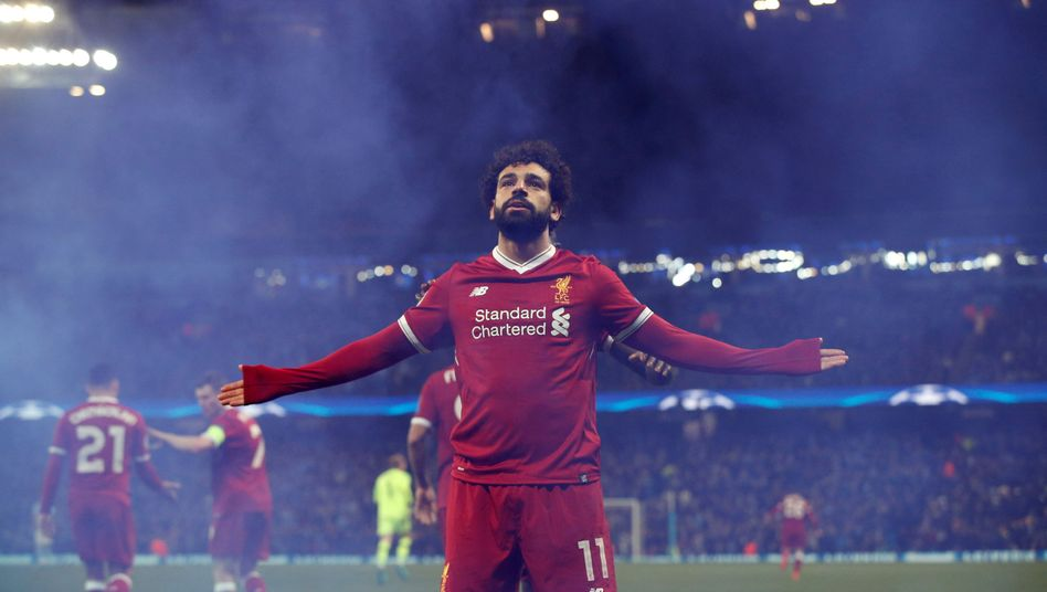 Liverpool-Star Salah