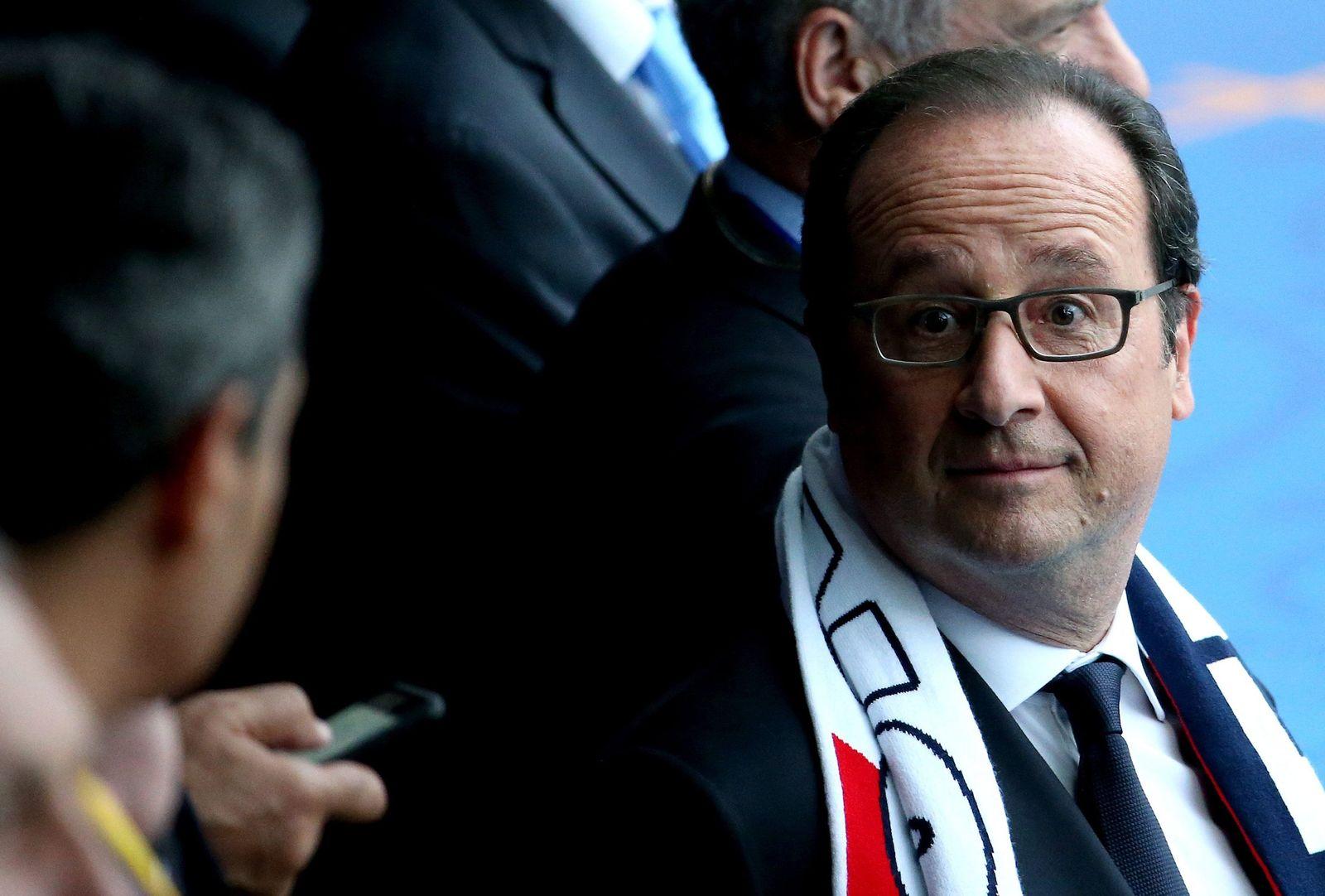 EM 2016 / EURO 2016 / Eröffnung / Francois Hollande