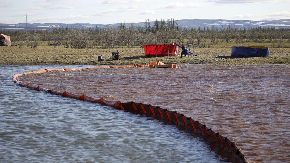 Diesel im Fluss: Unabsehbare Folgen für die Natur