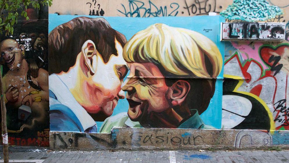 Athens bekannteste Street-Art-Werke: Krisenkunst
