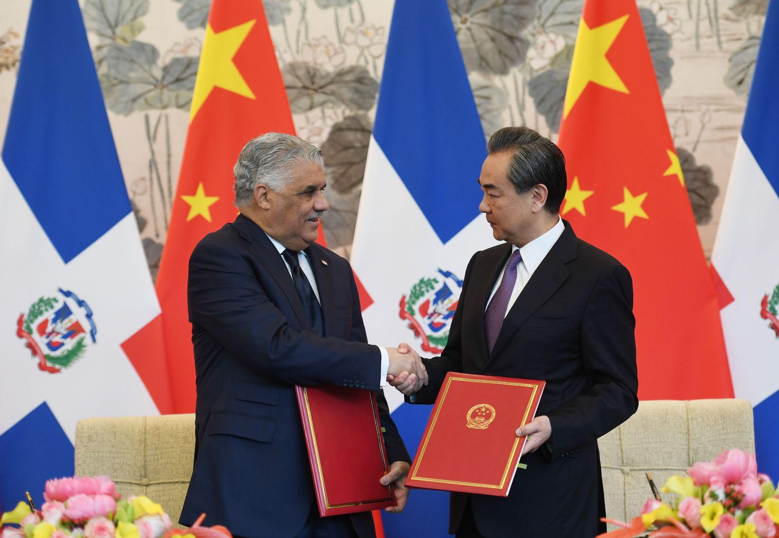 CHINA-DOMINCAN-TAIWAN-DIPLOMACY-TRADE