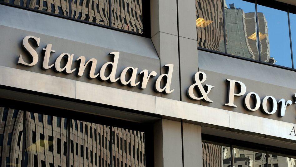Zentrale von Standard & Poor's in New York: versehentlich Frankreich herabgestuft