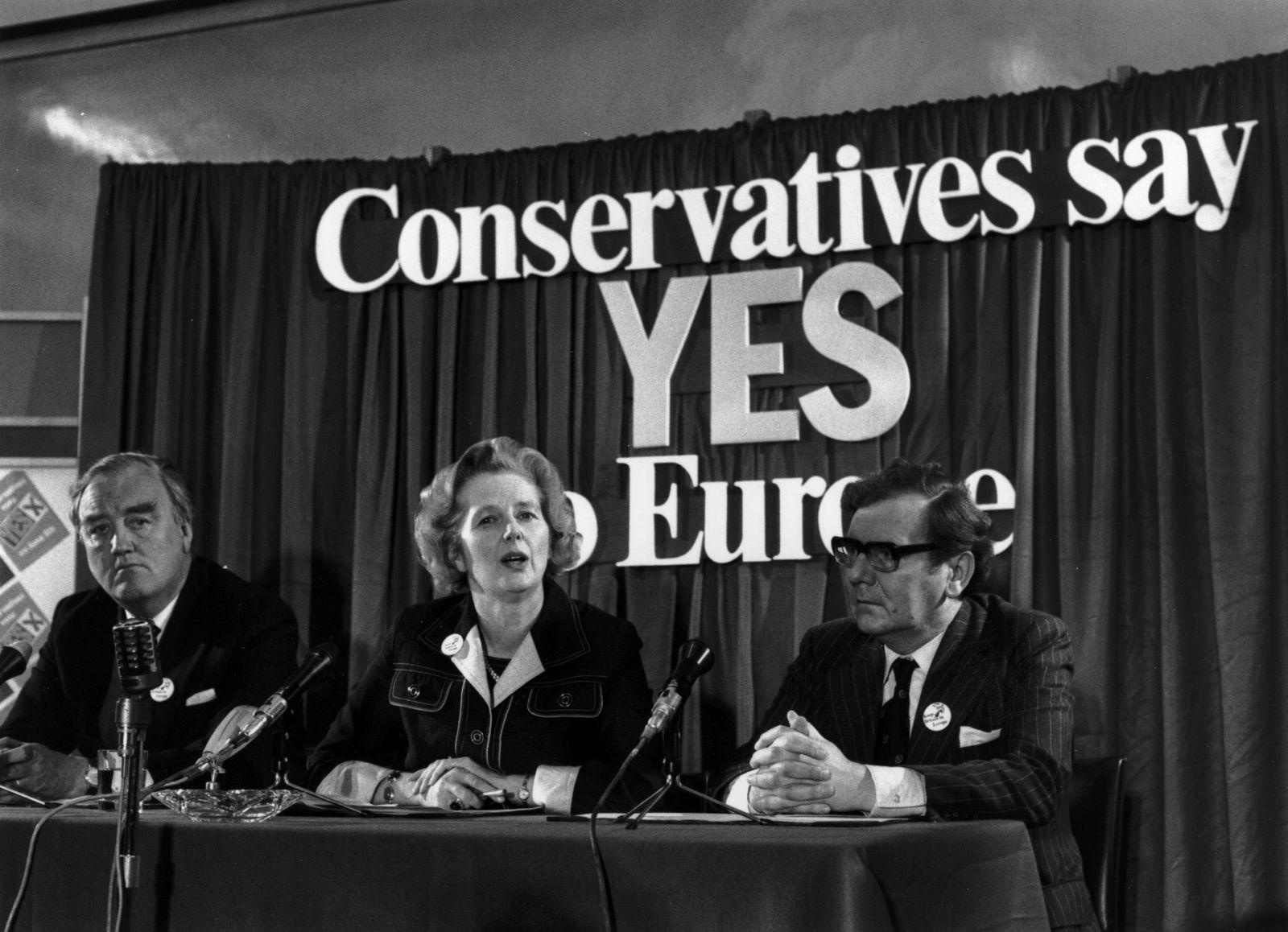Großbritannien / EU / EEC / Thatcher / Whitelaw / Kirk
