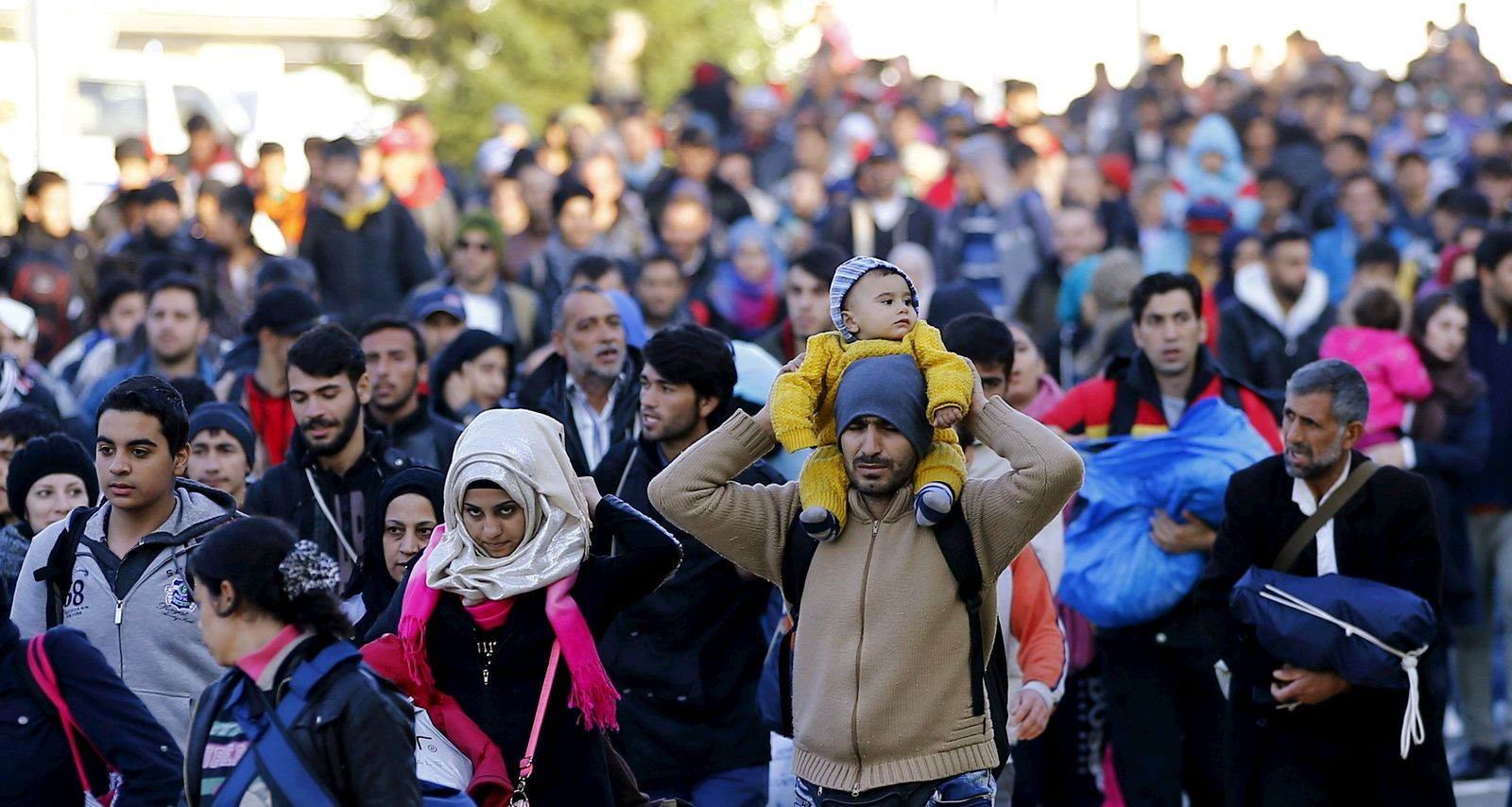 Flüchtlinge Slowenien Österreich