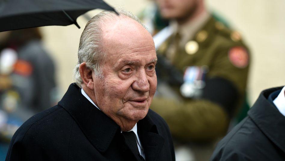 Juan Carlos, ehemals König von Spanien (Archivbild)