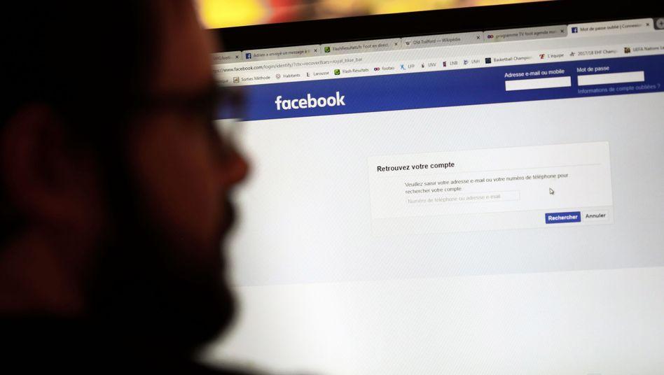 """Seite der Facebook-Gruppe """"Ligue du LOL"""""""