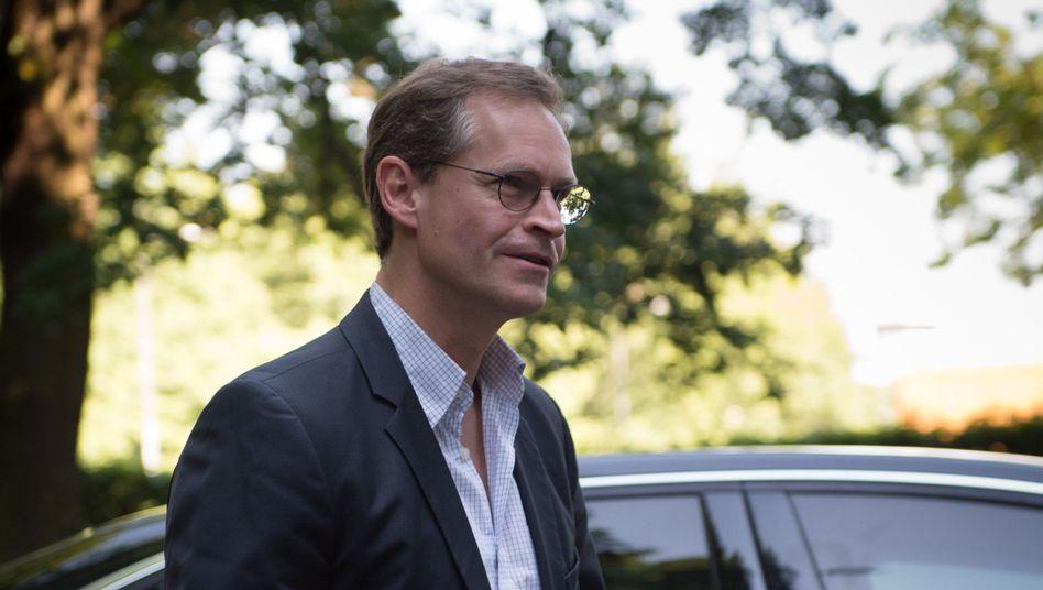 Regierender Bürgermeister Müller: Einstimmig gewählt