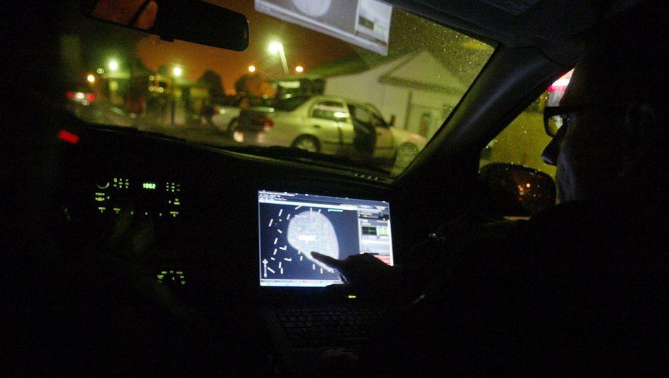 Ortungstechnik (bei der Polizei in Oakland, Kalifornien): Woher kommt ein Geräusch?