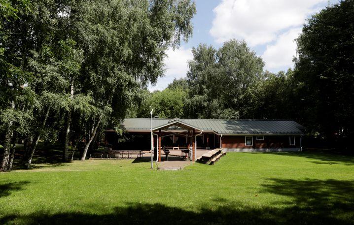Haus in Serebryany Bor auf dem Gelände der US-Datscha