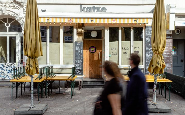 Hamburg's Katze bar was the site of a recent coronavirus outbreak.