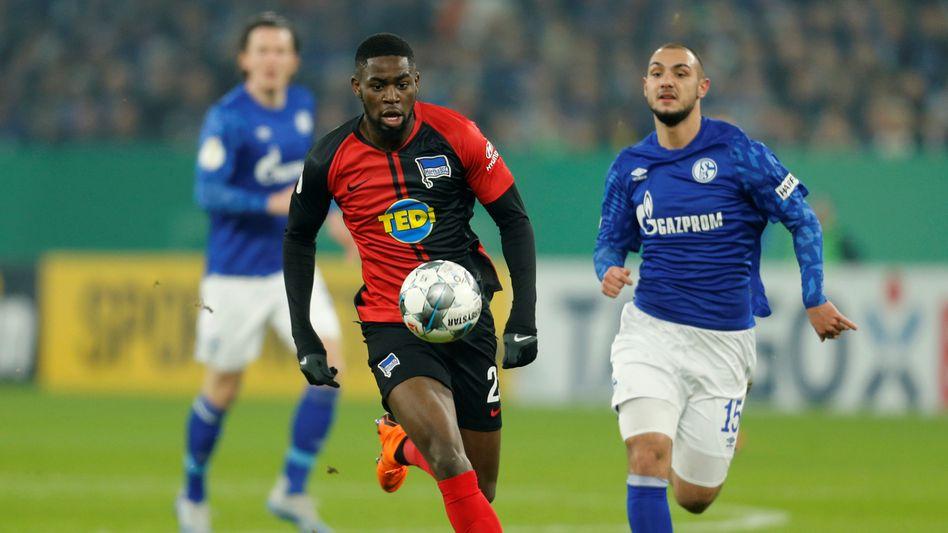 Im Spiel gegen Schalke 04 soll Jordan Torunarigha rassistisch beleidigt worden sein