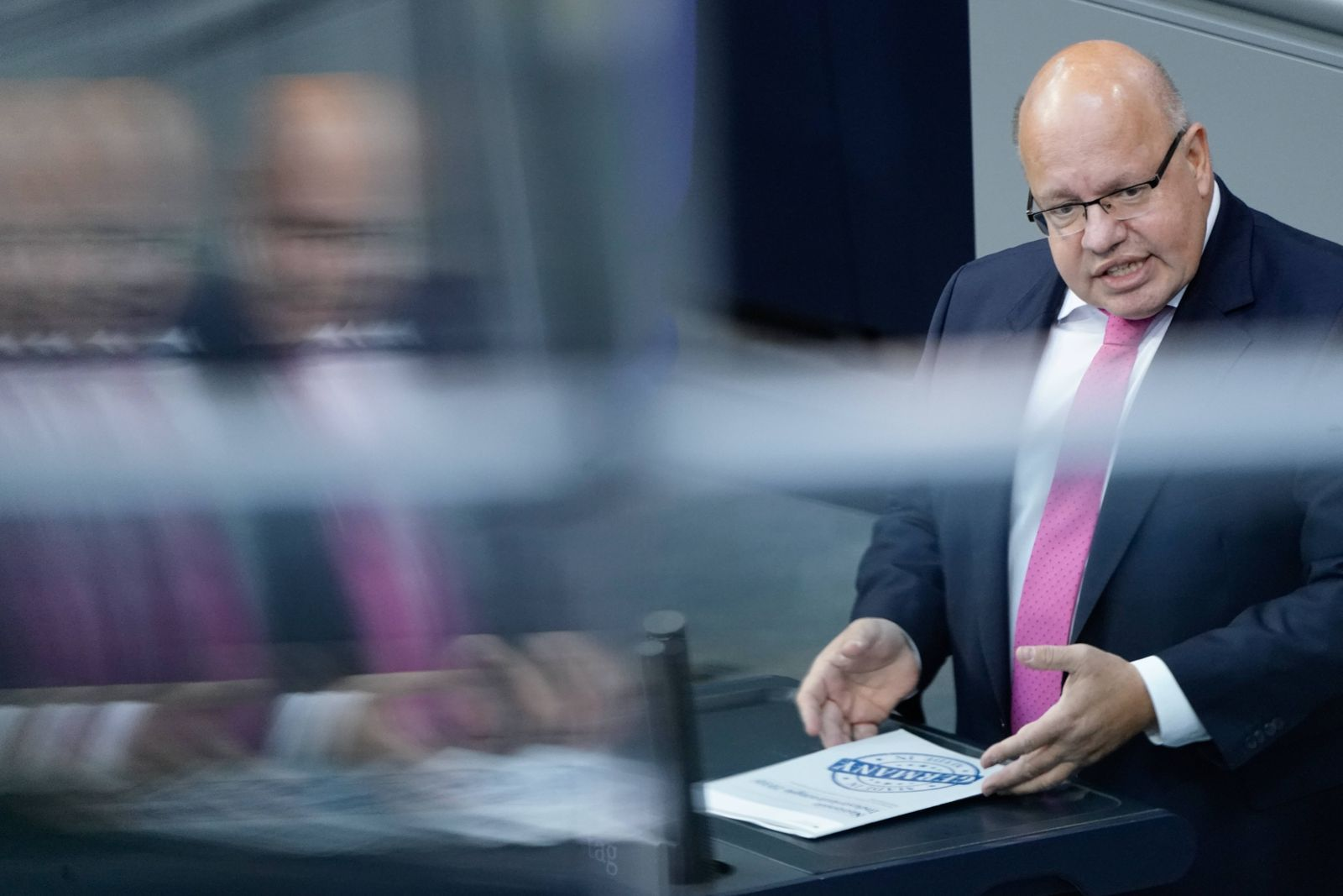 173. Bundestagssitzung am 10.09.2020 in Berlin Aktuell, 10.09.2020, Berlin Peter Altmaier der Bundesminister fuer Wirts