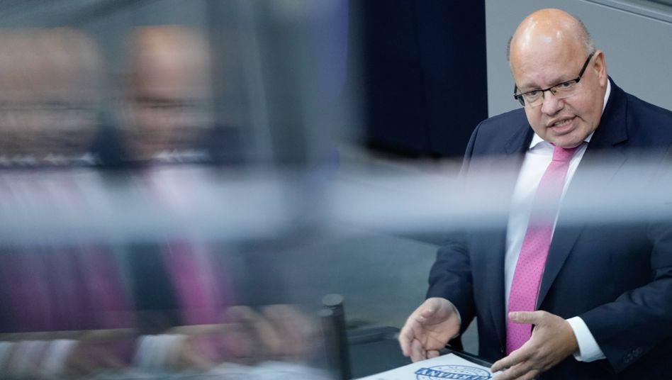 """Wirtschaftsminister Altmaier: """"Eine Charta für die Rettung des Klimas"""""""