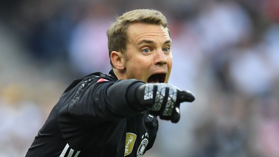 DFB-Keeper Manuel Neuer