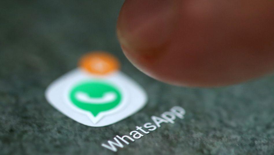 WhatsApp-Icon auf dem Smartphone: Die Ende-zu-Ende-Verschlüsselung sorgt für mehr Sicherheit vor Hackern und Spionen