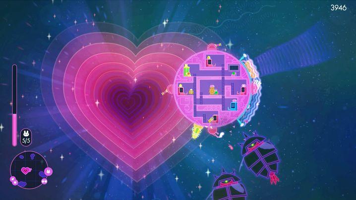 """""""Lovers in a Dangerous Space Time"""": Zufallsbasierte 2D-Welten"""