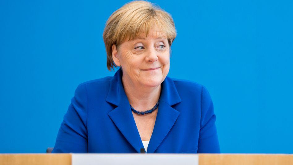 Merkel als Mielkes letzte Rache: Die Kanzlerin nach geglücktem Experiment
