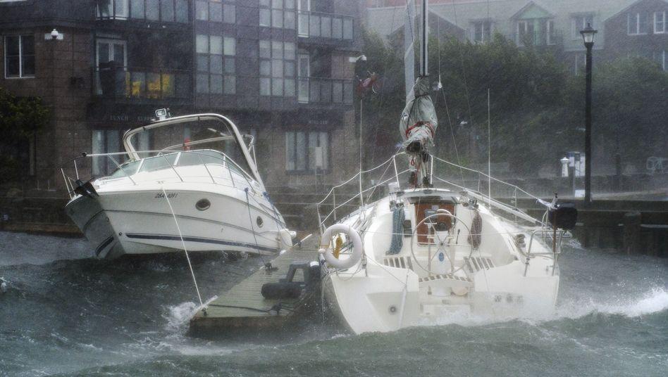 Boote im Hafen von Halifax, Nova Scotia
