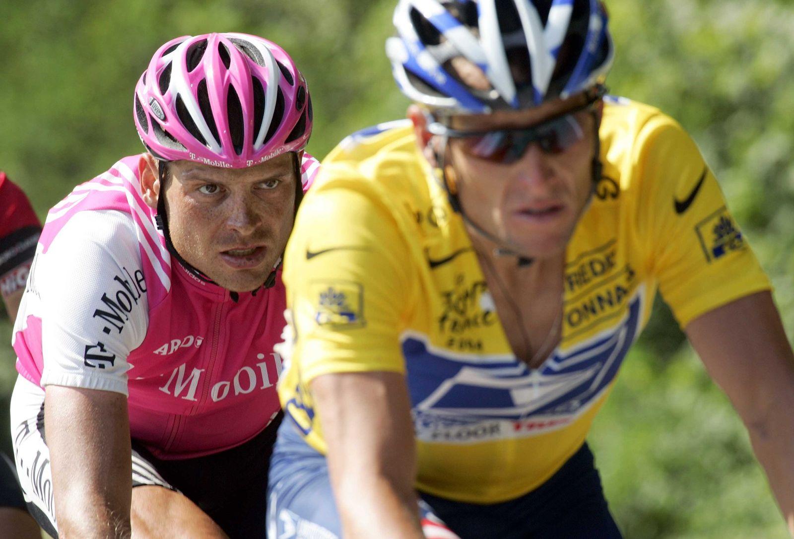 Tour de France - Armstrong und Ullrich
